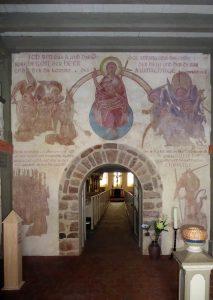 Wandbild, Kirche Reetz