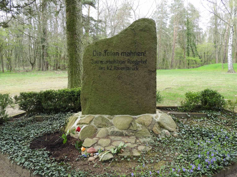 Gedenken, KZ-Außenlager Roederhof , Befreiung, Bad Belzig