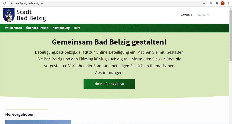Bad Belzig, Bürgerbeteiligung
