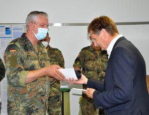 Potsdam-Mittelmark, Bundeswehr, Corona, Verabschiedung