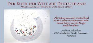 Ausstellung und Dialog: Der Blick der Welt auf Deutschland @ St. Marienkirche | Bad Belzig | Brandenburg | Deutschland