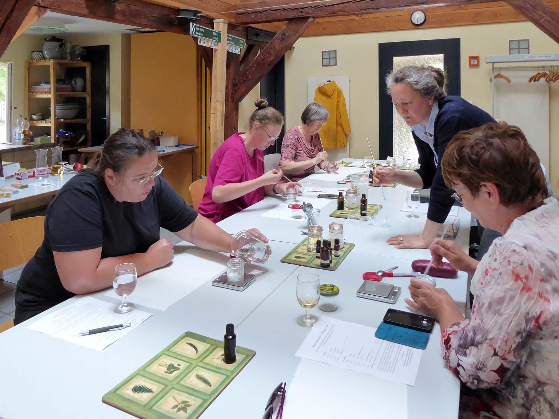 Gabi Sußdorf, Creme-Workshop