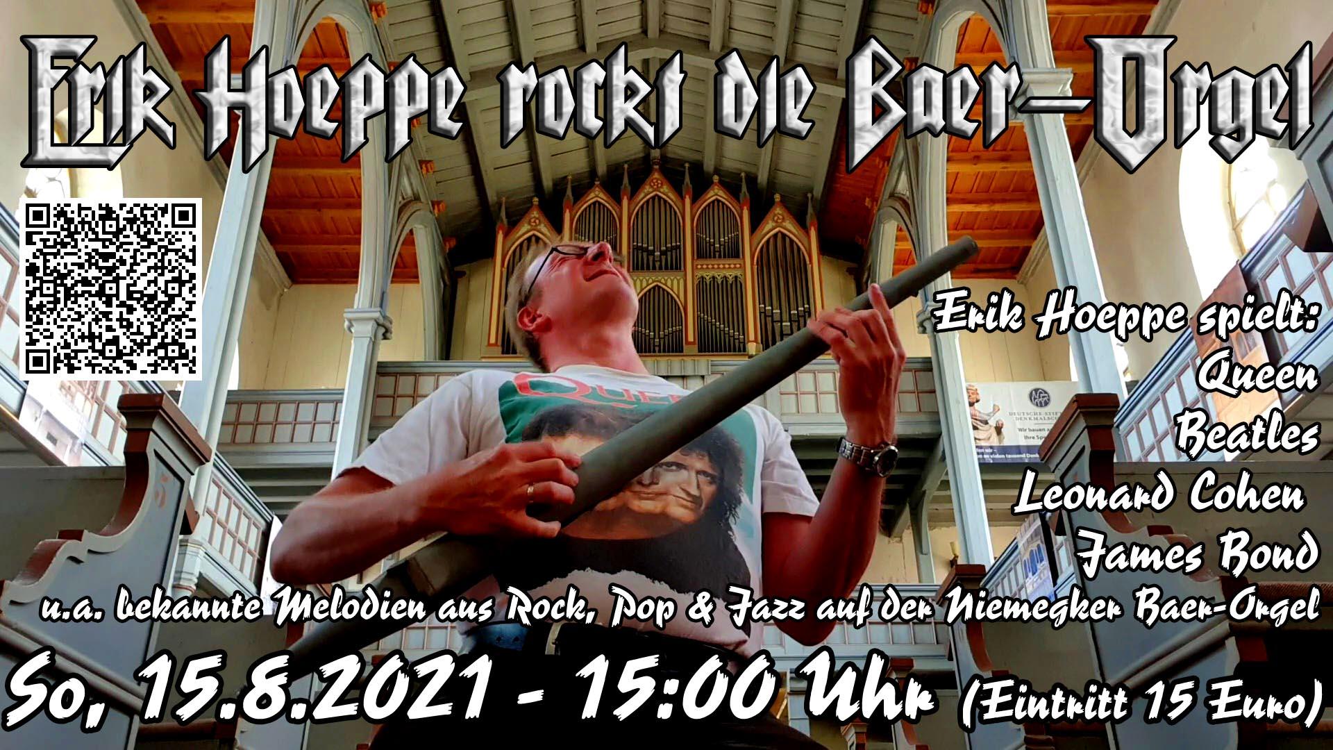 Die Baer-Orgel rockt plakat quer
