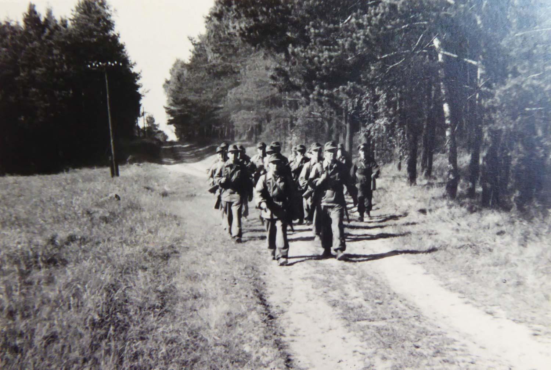 Marschtraining, Kampfgruppen, Schmerwitz