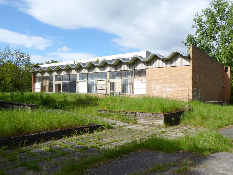 Zentralschule, Kampfgruppen, Schmerwitz, Mehrzweckgebäude