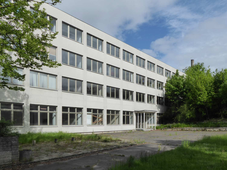 Zentralschule, Kampfgruppen, Schmerwitz, Schulungsgebäude