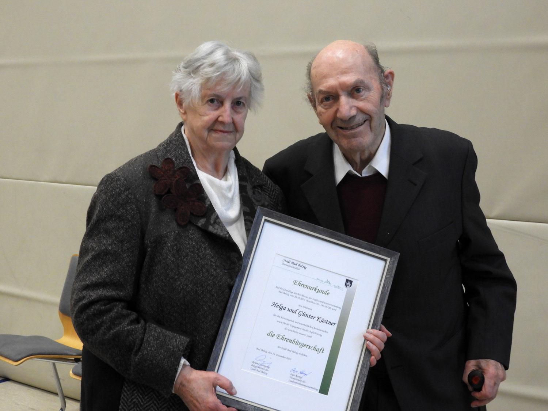 Bundesverdienstkreuz, Helga und Günter Kästner