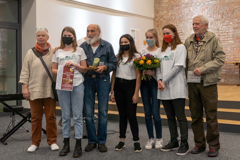 Die Preisträger des letzten Fläming-initiativ-Preises: OeLaLa e.V. aus Reetz
