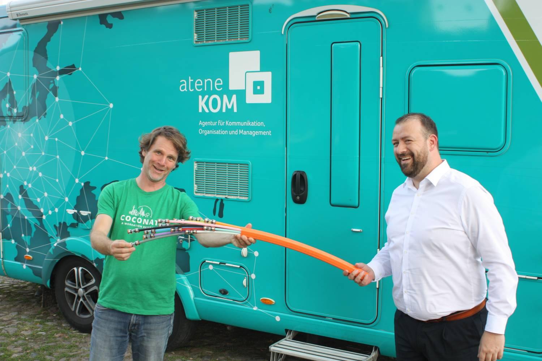 Janosch Dietrich und Daniel Knohr (2)