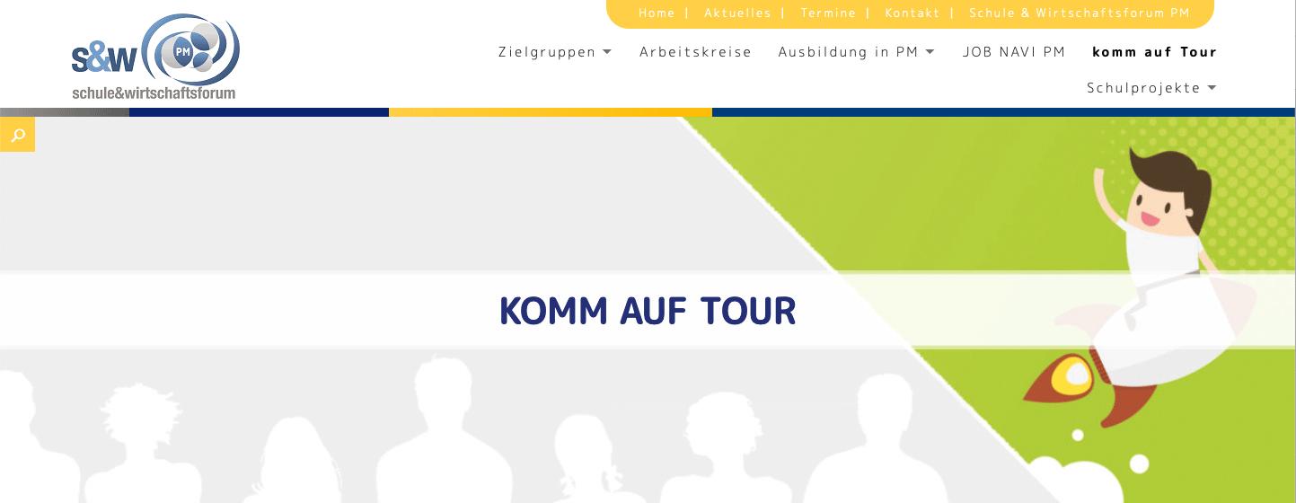 Komm-auf-Tour-Webseite